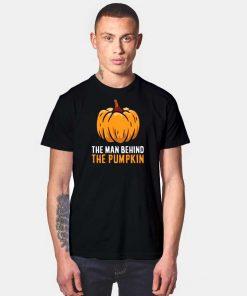 The Man Behind The Pumpkin Halloween T Shirt