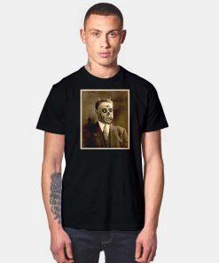 Vintage Satan Demon Face Portrait T Shirt