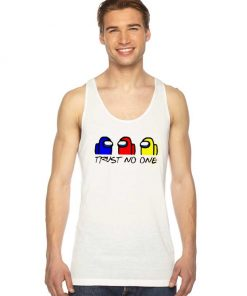 Among Us Trust No One Friends Style Tank Top