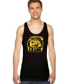 Animal Club Grunge Style Logo Tank Top