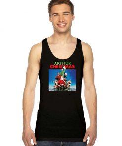 Arthur Christmas Movie Xmas Logo Tank Top