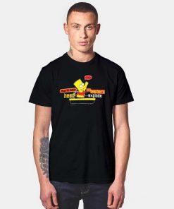 Bart Simpson Make Teachers Head Explode T Shirt