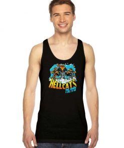 Hellcats One Down 8 Lives Vintage Tank Top