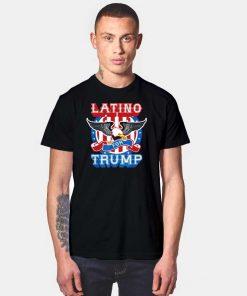 Latino For Trump 2020 America Eagle T Shirt