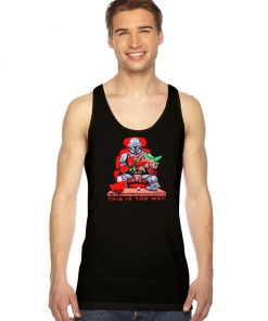 Lord Mandalorian This is The Way Tank Top