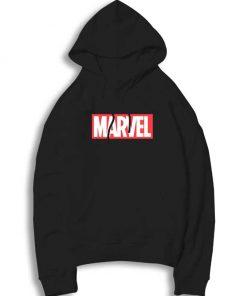 Marvel Classic Distressed Hero Logo Hoodie