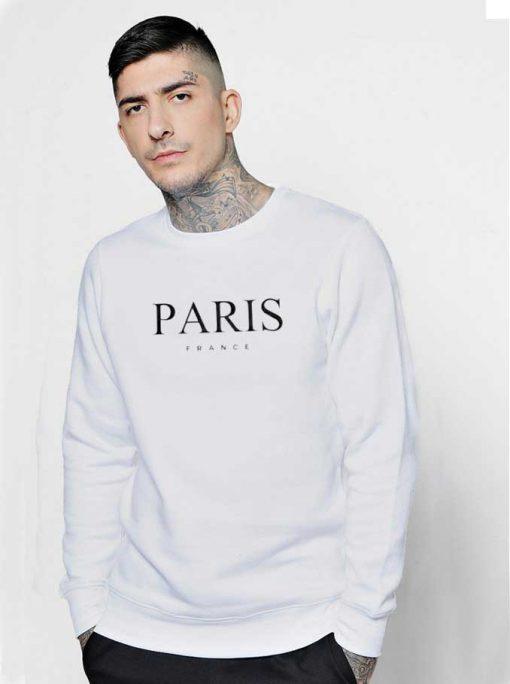 Paris France Nation Logo Sweatshirt