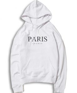 Paris France Nation Logo Hoodie