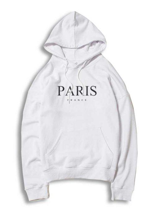 Paris France Nation Logo Hoodie