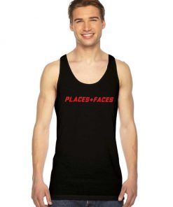 Places And Faces Plus Logo Tank Top