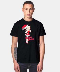 Santa Baby Betty Boop Christmas Costume T Shirt
