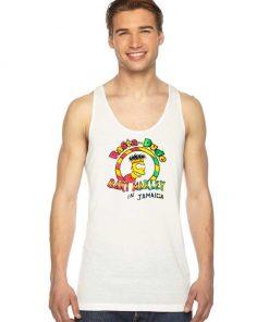 Simpsons Rasta Dude Bart Marley In Jamaica Tank Top