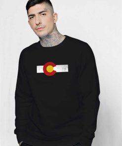 Colorado Flag Vintage Box Sweatshirt