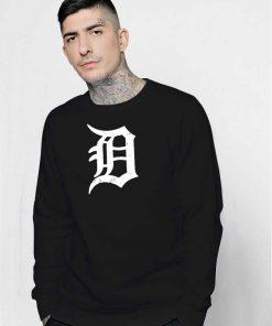 Detroit Word Classic Logo Sweatshirt