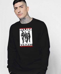 Run DMC Band Vintage Logo Sweatshirt