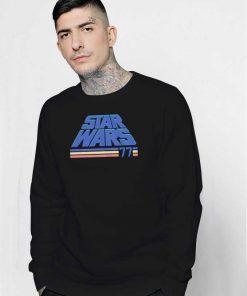 Star Wars Retro Slanted Logo Sweatshirt