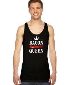 Bacon Queen Meat Crown Tank Top