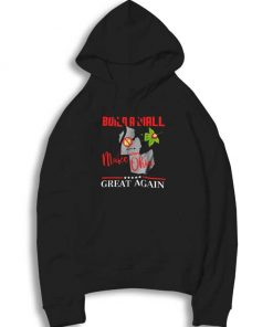 Build A Wall Make Ohio Great Again Hoodie
