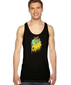 Just Fold In The Cheese Burger Tank Top