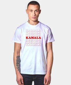 Kamala Harris Red Word T Shirt