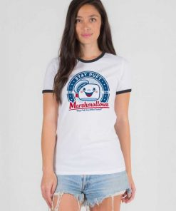 Marshmallows Stay Puft Est 1984 Ringer Tee