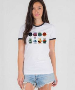 Minimalist Planets Picture Star Wars Ringer Tee