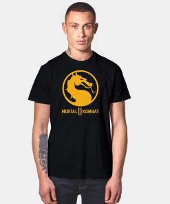 Mortal Kombat 11 Dragon Logo T Shirt