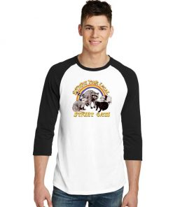Support Your Local Street Cats Raglan Tee