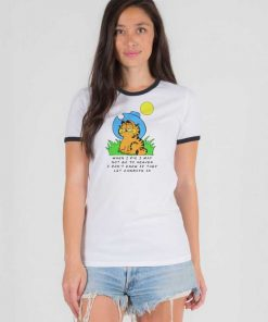 When I Die I May Garfield Cowboy Ringer Tee