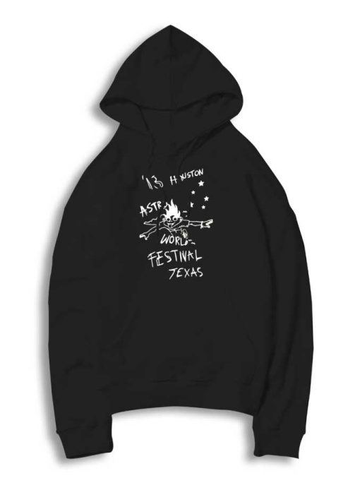 Astro World Festival Texas Drawing Hoodie