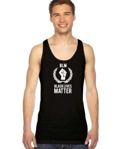 BLM Black Lives Matter Logo Tank Top