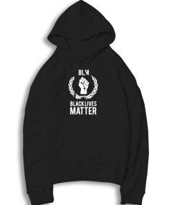 BLM Black Lives Matter Logo Hoodie