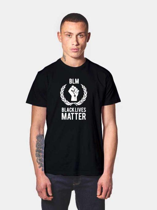 BLM Black Lives Matter Logo T Shirt