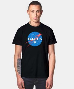Balls Aeronautics Liberty Statue Nasa T Shirt