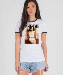 Bruce Jenner Vanity Fair Call Me Caitlyn Ringer Tee
