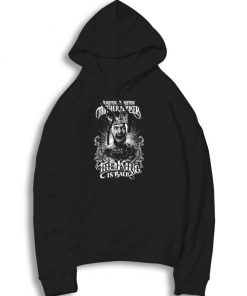 Conor McGregor The King Is Back Hoodie