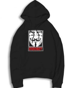 Disobey Anonymous Mask Hoodie