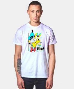 Donald Duck Angry Disney Vintage T Shirt