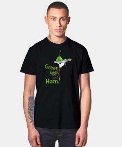 Dr Seuss Green Eggs and Ham Food T Shirt