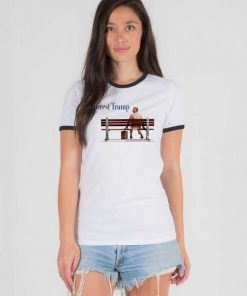 Forrest Trump Park Chair Ringer Tee