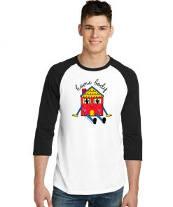 Home Body Introvert Parody Raglan Tee