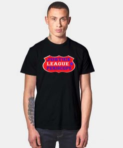 Justice League Periscope Logo T Shirt