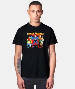 Super Friends Of Justice League T Shirt