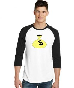 Teenage Millionaire Fanclub Money Raglan Tee