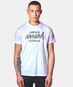 The Justice League Ugly Drawing T Shirt