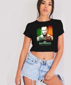 UFC Notorious Conor McGregor Ireland Crop Top Shirt