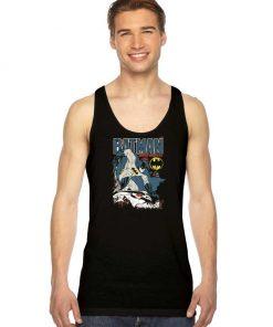 Batman Caped Crusader Comic Tank Top