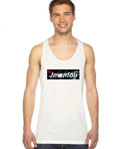 Jmenfou Flower Box Logo Tank Top