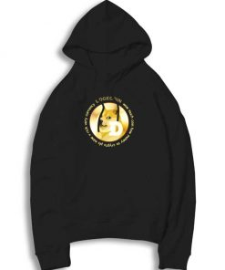 Dogecoin The Best Cryptocurrency Hoodie