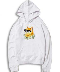 Dogecoin The Rich Shiba Inu Doge Hoodie